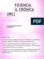 Insuficiencia Renal Crónica (Irc)