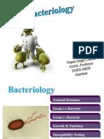 Bacteriology Gopal