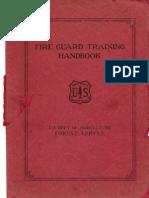 Fire Guard Training Handbook