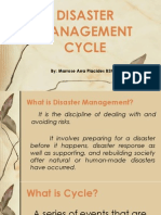 Disaster Management Cycle