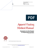 Apparel Packing Method Manual of Target Australia