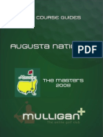 Augusta National Masters 2008 Golf Course Guide