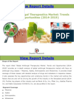 Global Antifungal Therapeutics Market