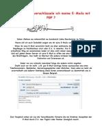 Anleitung Wie Verschlüssele Ich Meine E-Mails Mit PGP