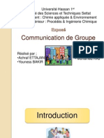 Communication Groupe