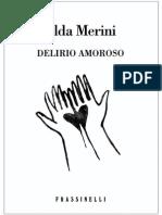 Alda Merini - Delirio Amoroso