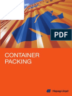 Container Packing Hapag-Lloyd