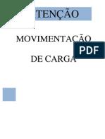 Placa Movimentação de Carga