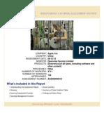 August 2014 Independent External Assessment Quanta Changshu
