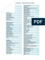 Lista de Compras