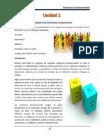 Unidad 1-Fundamentos de Las Relaciones Interpersonales