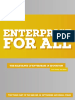 Enterprise for All - Lord Young Report 2014