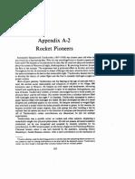 Appendix a-2 Rocket Pioneers