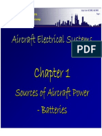 Aircraft Electrical System Chapter 1 - Batteries