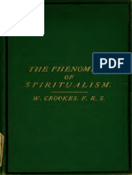 William Crookes - Researches in the Phenomena of the Spiritualism (1874)