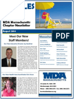 MDA Massachusetts August Newsletter