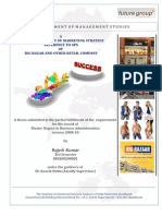 Management Thesis MBA