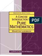 71865064 a Concise Introduction to Pure Mathematics