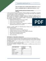 Especificaciones Tecnicas Estructura i.e. 22570