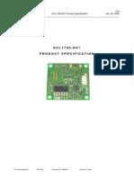 Dn Scl1700-d01 Product Spec
