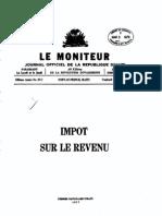 Impot Sur Le Revenu_1977