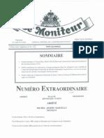 COLFAM Moniteur 24 Janvier 2012