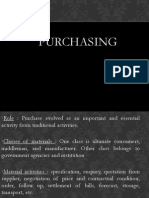 1. Materials Management Planning Purchasing
