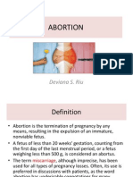 Abortion(s)