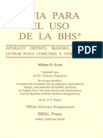 Guia Para El Uso de La BHS - William R. Scott
