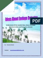 Ideas About Envelope Detector
