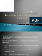 Presentación API 581