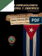 Boletín Espeleológico Informativo y Científico No.2 (Edición Especial No.1)