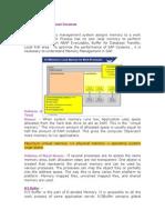 SAP Memory Management Document