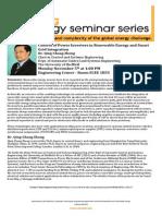 Big Energy Series 11.5.2012 Qing-Chang Zhong