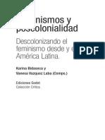 Ediciones Godot Feminismos Poscolonialidad