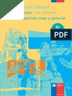 Cuaderno de Trabajo 3basico 1semestre Arte