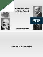 Metodología Sociológica