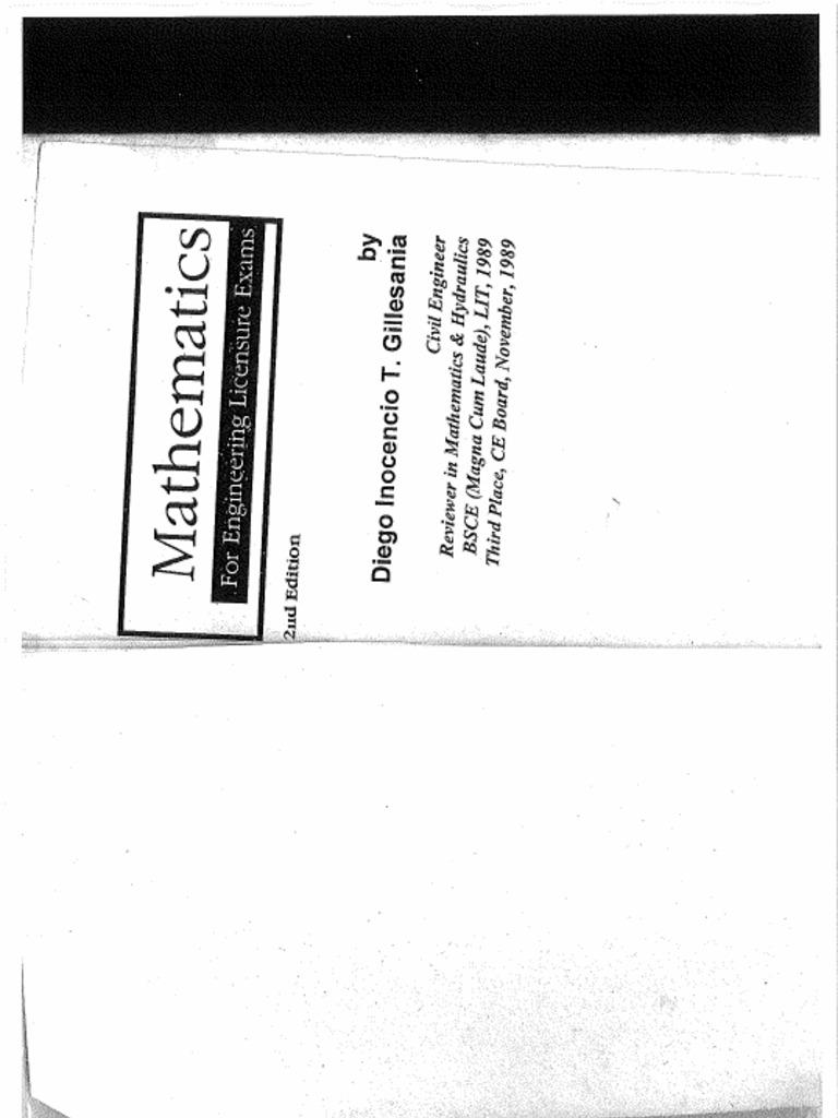 Solution for Gillesania Math 1