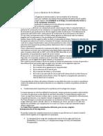 Informe Comité de Expertos Resumen