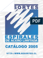 Brochure Resortes y Espirales