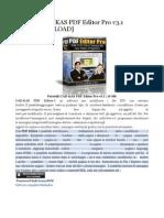 CAD-KAS PDF Editor Pro v3.1 Portable (Editor PDF)