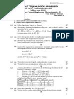15-150503-Chemical Engineering Thermodynamics-II TQ II