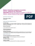 2013 m2 Sciences Educ Dspd