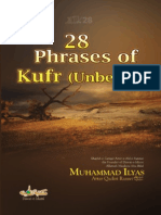 28 Phrases of Kufr