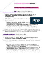 Chasquetti, sistemas partidistas