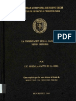 Ley de Coordinación Fiscal Tesis