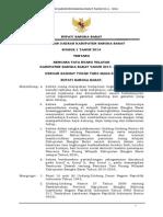 Peraturan Daerah Kabupaten Bangka Barat Nomor 1 Tahun 2014 tentang Rencana Tata Ruang WIlayah Kabupaten Bangka Barat Tahun 2014 - 2034