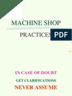 Machine Shop Practices