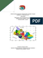 Peraturan Daerah Kabupaten Sumba Timur Nomor 12 Tahun 2010 tentang Rencana Tata Ruang WIlayah Kabupaten Sumba Timur Tahun 2008 - 2028