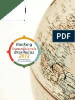 Ranking Transnacionais Brasileiras2012